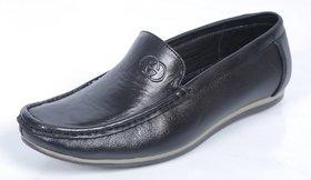 Amore Men's Black 100% Pure Leather Formal Shoe - 6 UK