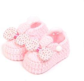 ChoosePick Crochet Baby Shoes Multicolor 136