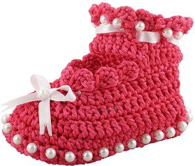 ChoosePick Crochet Baby Shoes Multicolor 179