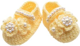 ChoosePick Crochet Baby Shoes Multicolor 154