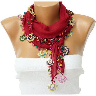 SaaHeli Handmade Crochet Scarf 102