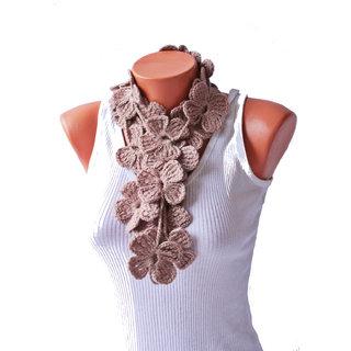 SaaHeli Handmade Crochet Scarf 110