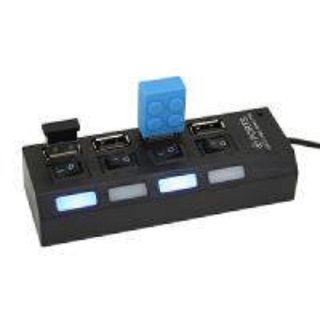 techon usb 4 port hub with on/off switch