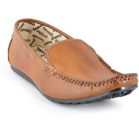Foot N Style Men's Tan Loafers