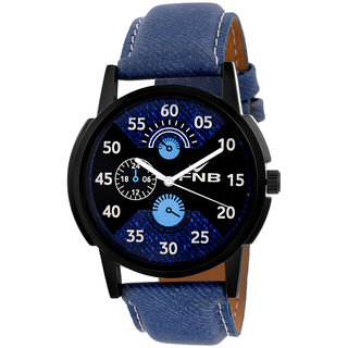 FNB0096 Blue Dial Analogue watch for Men fnb0096