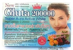 Gluta 200000mg SoftGel + VIT C BERRY MIX FIBER