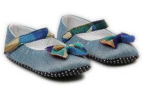 Pikaboo Blue Royal Prewalker Shoes For Girl (0-6 Months)