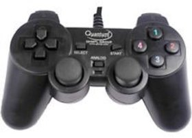 Quantum USB Game Pad With Vibration Joystick