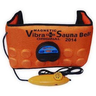 Zenon 3in1 Vibrating Magnetic Slimming Belt (Orange)