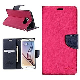 new product a6314 02858 Mercury Goospery Fancy Diary Wallet Flip Case Cover for Motorola Moto G3 /  Moto G (3rd Gen) Pink