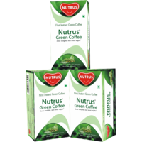 Nutrus Green Coffee - Pack of 3