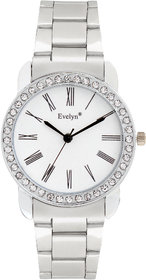 Evelyn Analogue Blue Dial Girls Watches-Eve-655