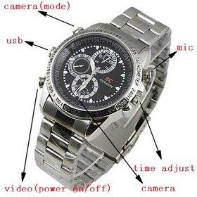 4 Gb Spy Wrist Watch Camera