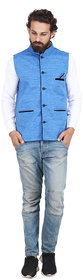 Akaas Men's Blue Party Jackets