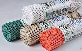 Multi Purpose Pvc Foam Anti-slip Anti-slide Mat- For Fridge, Bathroom, Kitchen, Drawer, Shelf Liner (38x100 cm)