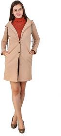 Texco Beige Solid Over coat