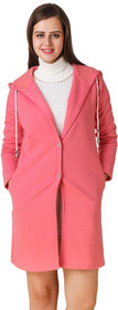 Texco Pink Solid Over coat