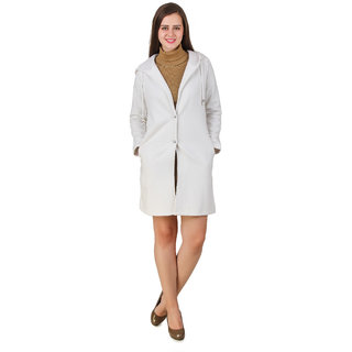 Texco Cream Solid Over coat