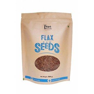 True Elements Raw Flax Seed 500gm