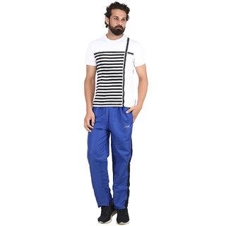 d90cbf78ff Buy Akaas Men s Black and Blue Strip Trackpant Online - Get 50% Off