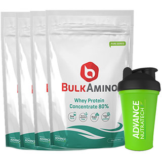 Advance Nutratech Bulkamino Whey Protein Concentrate 80 - 130343150