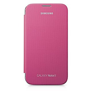 SUPER FINISH LEATHER FLIP DIARY CASE COVER FOR SAMSUNG GALAXY NOTE 2 N7100- pink