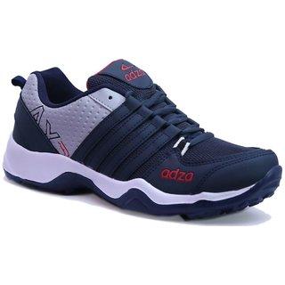 Adza Men's Navy Running Shoes