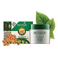 Biotique Bio Almond Soothing & Nourishing Eye Cream, 15G.