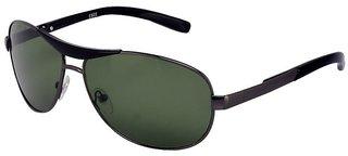 Meia RedBox Gun Green Aviator Sunglasses