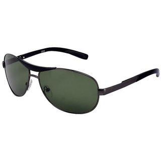 Meia RedBox Gun Green Aviator Sunglasses