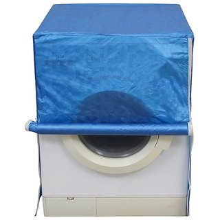 Dream Care Blue Colour with Square Design Washing Machine Cover for Fully Automatic Front Loading IFB Diva Aqua SX 6 KG
