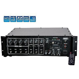 MEDHA-350W Professional High Power PA Amplifier with Digital Media Player And Cooling Fan Inbuilt