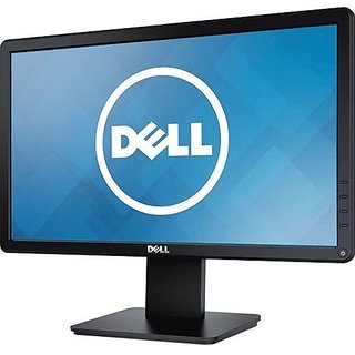 Dell 18.5 inch HD LED - D1918H Monitor  (Black)