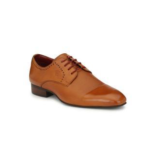 Alberto Torresi Pirlane formal Tan shoe
