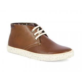 Alberto Torresi Ilario Tan + Brown Boot
