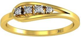 Diamond Designer Ring 0.08 CT / 2.38 gm Gold-JRG1891