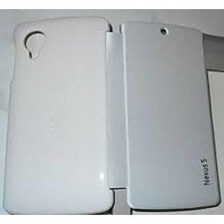 LG Google Nexus 5 Flip Cover - white