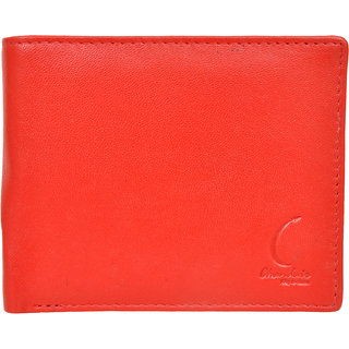 Chandair Pure Leather Red Mens Wallet (CH-NW-16)