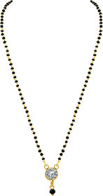 MJ Charming Gold Plated Mangalsutra For Women