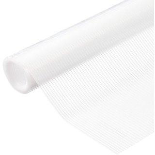 Skywalk Multipurpose Textured Super Strong Anti-Slip EVA Mat- full 5mtr Length(Transparent/white color)