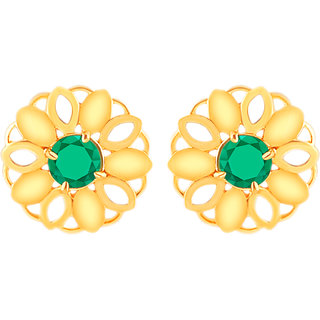 MJ Eye-catching Gold Plated Stud Earring For Women