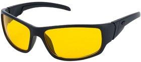 Fair-X Yellow UV Protection Wrap-around Sunglasses
