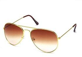 Fair-X Brown UV Protection Aviator Sunglasses