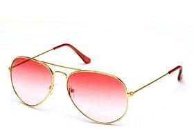 Fair-X Pink UV Protection Aviator Sunglasses