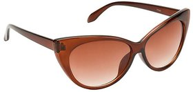 Fair-X Brown UV Protection Cat-eye Sunglasses