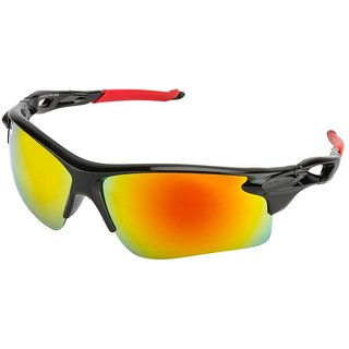 Fair-X Red UV Protection Sports Sunglasses