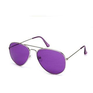 Fair-X Purple UV Protection Aviator Sunglasses