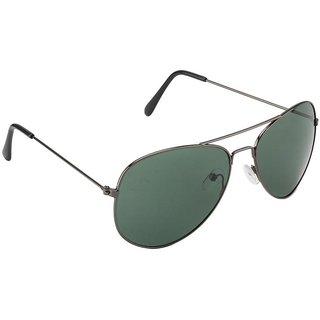 Fair-X Green UV Protection Aviator Sunglasses