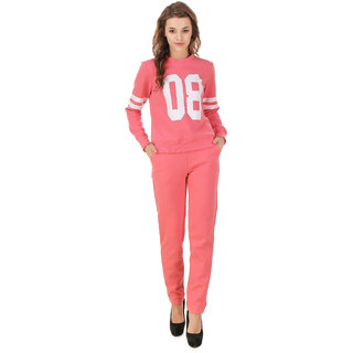 Texco Women's Pink Tracksuit