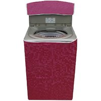 Glassiano Washing Machine Cover For Samsung WA62K4000HD Fully Automatic Top Load 6.2 Kg